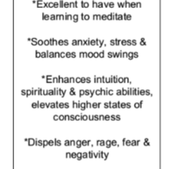 Amethyst Pendant #6 - Teardrop