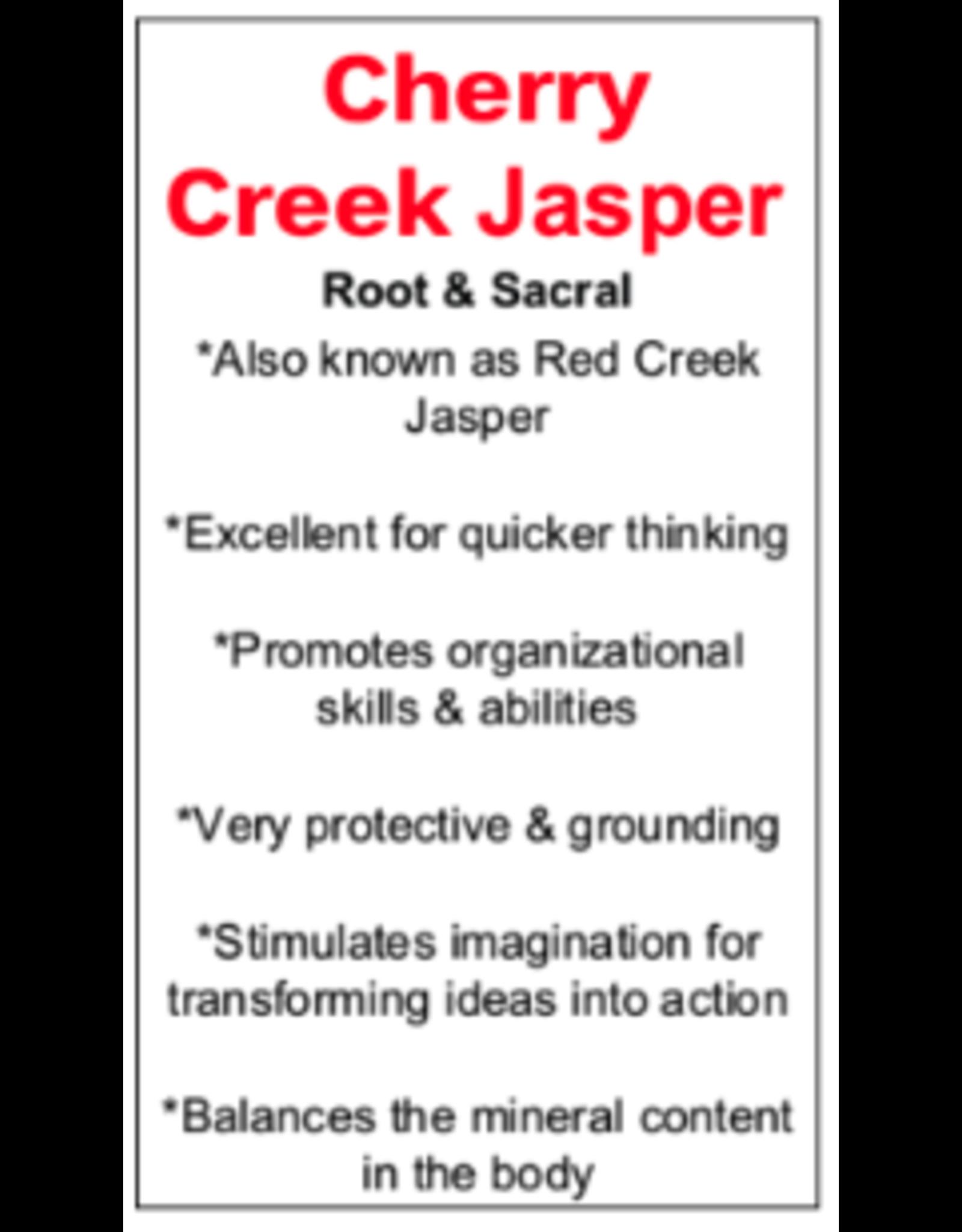 Cherry Creek Jasper Worry Stone