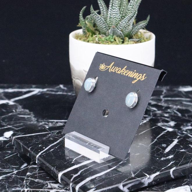 Aquamarine Earrings - Stud