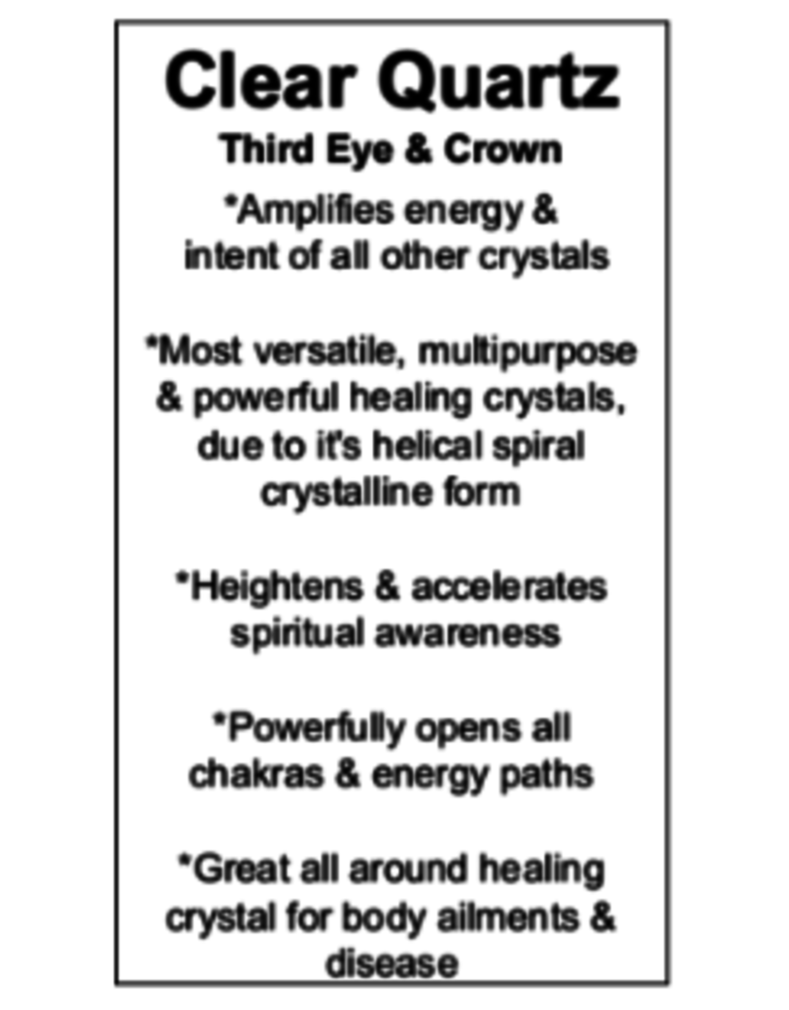 Crystal Pendant #2