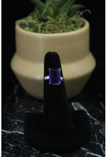 Amethyst Ring (Rectangle) - Size 5