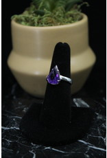 Amethyst Ring (Pointed Pear) - Size 7