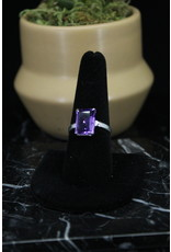 Amethyst Ring (Rectangle) - Size 9