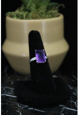 Amethyst Ring (Rectangle) - Size 7