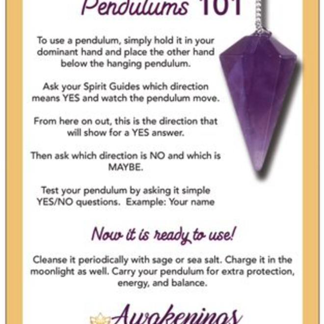 Amazonite Chambered Wand-Pendulum