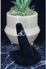 Black Onyx Ring (Oval) - Size 8