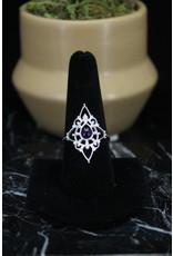 Amethyst Ring (Fancy Teardrop) - Size 9