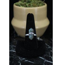 Labradorite Ring (Pointed)- Size 5