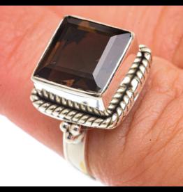 Smoky Quartz Ring - Size 6.25