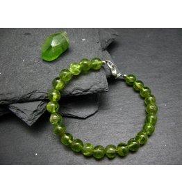 Peridot Bracelet - 7mm