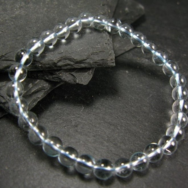 Blue Topaz Bracelet - 6mm