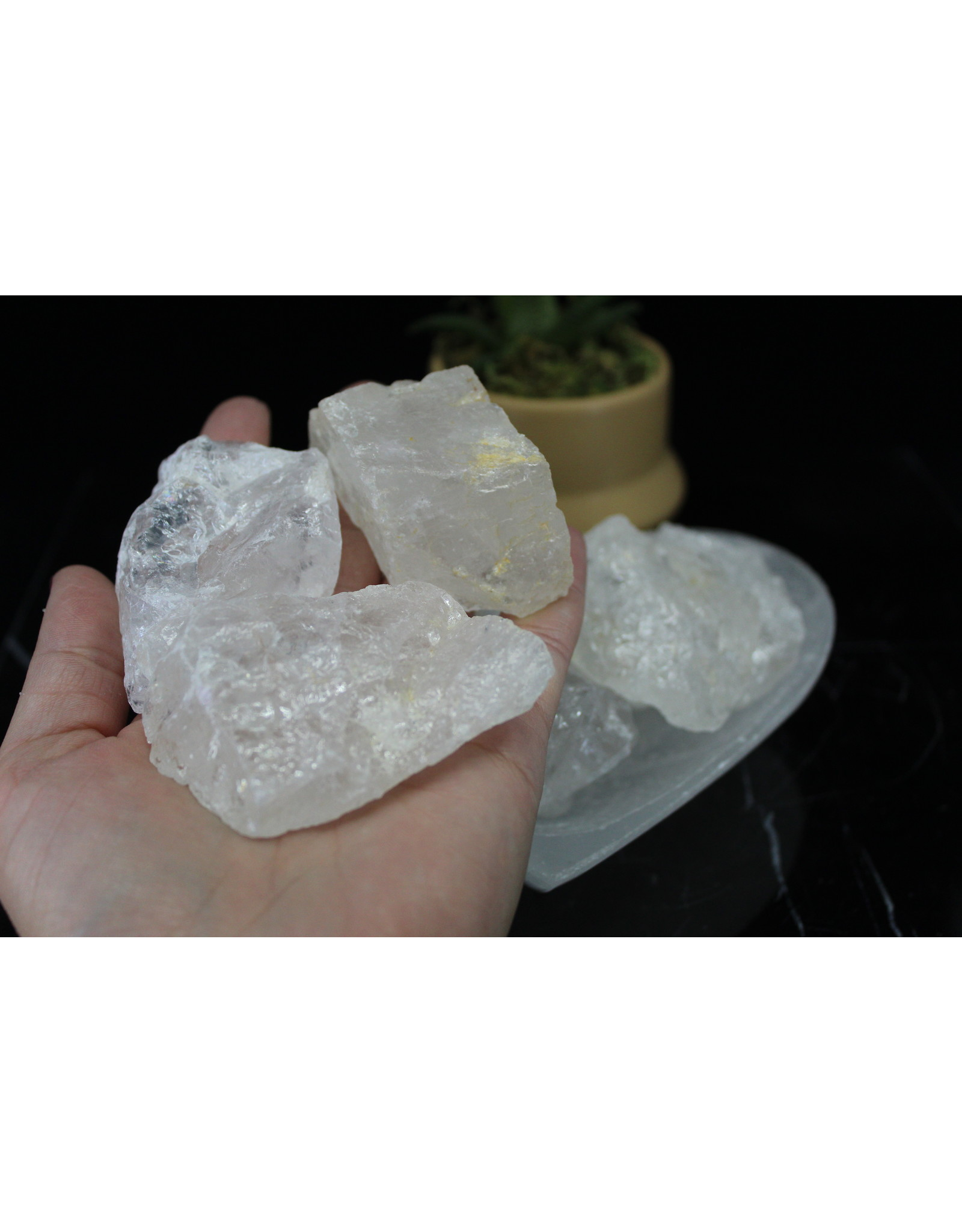 Clear Quartz Large-Rough Raw Natural