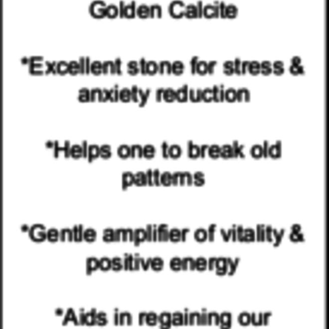 Amber Calcite Tower Point-Medium #3
