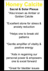 Amber Calcite Tower Point-Medium #2