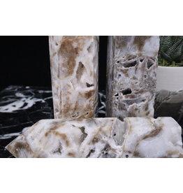 White Druzy Sphalerite Tower Point-Medium