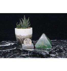 Rainbow Fluorite Pyramid-Medium
