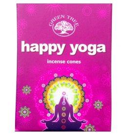 Happy Yoga Incense Cones
