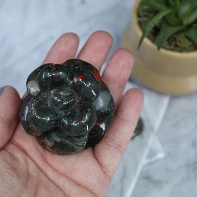 Bloodstone/Heliotrope Petaled Flower