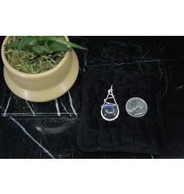 Labradorite Pendant w/ Sterling Wire Wrap
