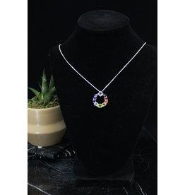 Energy Circle Chakra Necklace