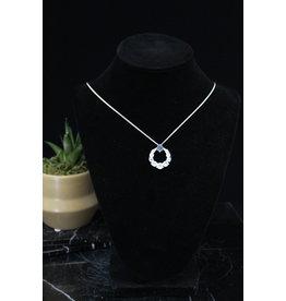 Energy Circle Moonstone Necklace