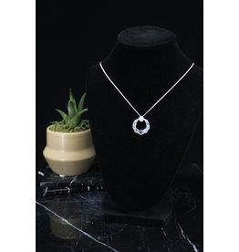 Energy Circle Labradorite Necklace