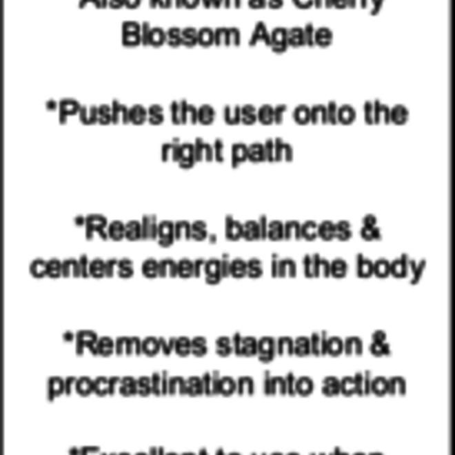 Aura Flower Agate/Cherry Blossom Rosettes-Large