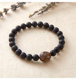 Silver & Sage - No Worries Bracelet