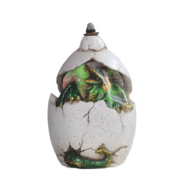 LED Hatching Dragon Backflow Incense Cone Burner