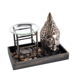 Bronze Buddha Ceramic Oil Burner