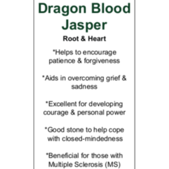 Dragons Blood Jasper Massage Wand