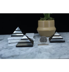 Shungite Sakara Pyramid - 5cm