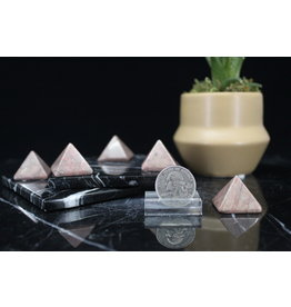 Rhodonite Pyramid Small