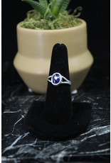 Blue Kyanite Ring (Oval)  - Size 7