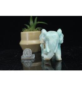 Sky Blue Elephant-Large