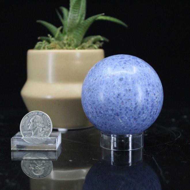 Dumortierite Sphere Orb-60mm