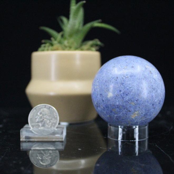Dumortierite Sphere Orb-55mm