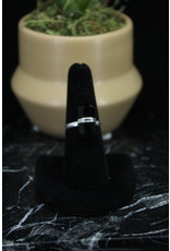 Black Onyx Ring (Pointed) - Size 8