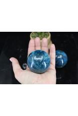 Blue Apatite Sphere Orb - 55mm