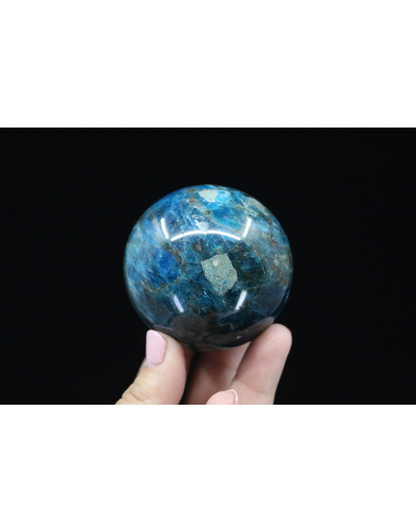 Blue Apatite Sphere-60mm