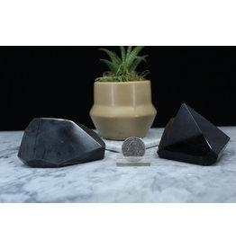 Banded Black Obsidian Free Form-Large