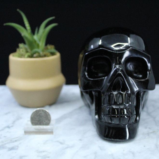 Black Obsidian Skull XXL
