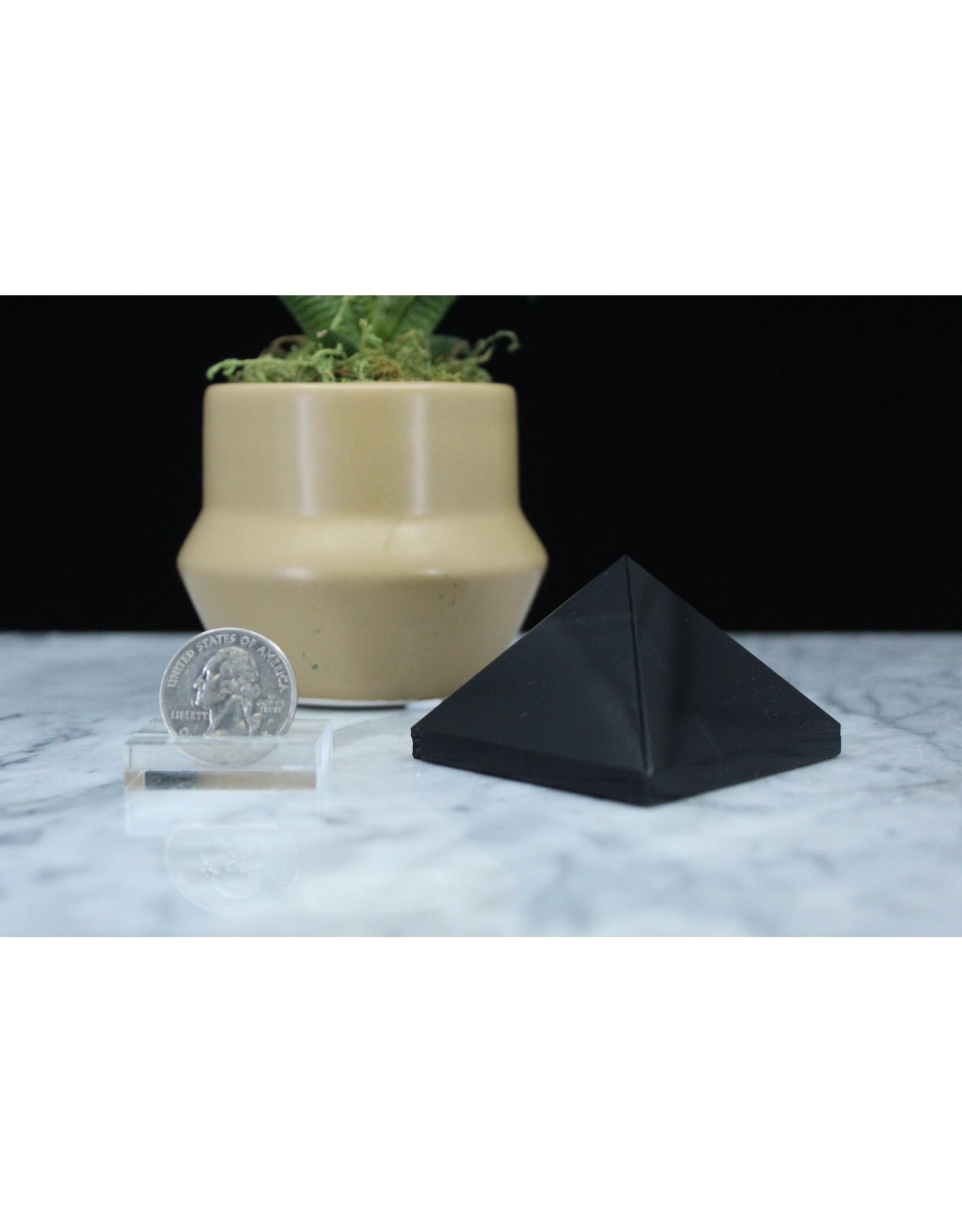 Black Obsidian Pyramid-Large
