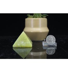 Lemon Jade Pyramid-Medium