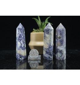 """Lilac/Violet Jasper Tower/Point-Medium (2-3"""")"""