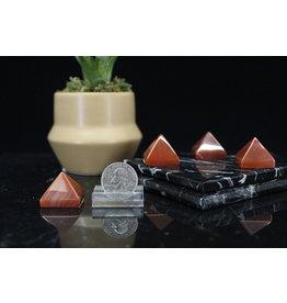 Banded Carnelian Pyramid-Small