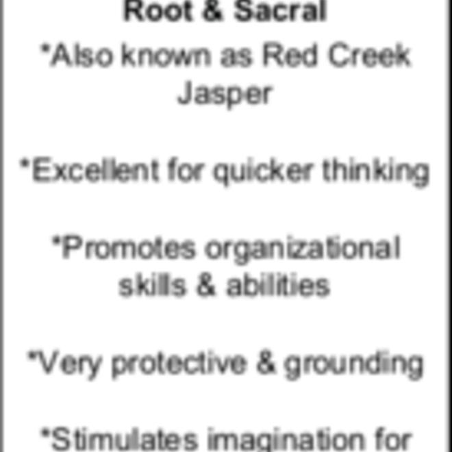 Cherry Creek Jasper Massage Wand