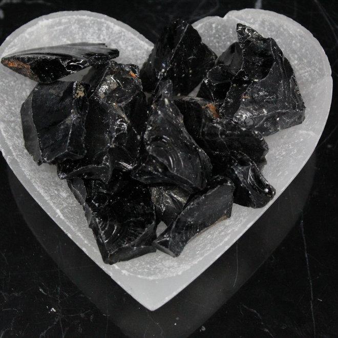 Black Obsidian Large Rough
