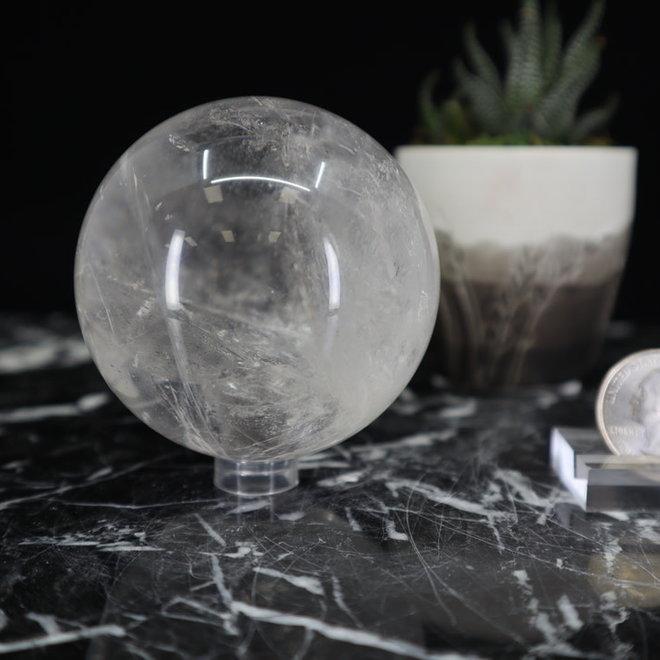 Clear Quartz Sphere Orb-65mm