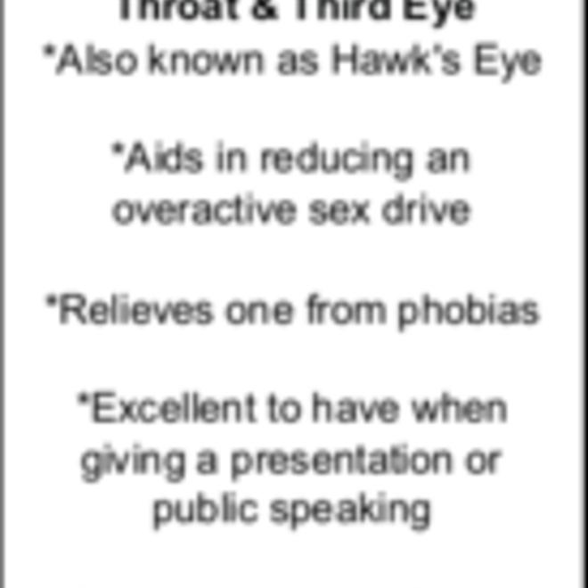 Blue Tigers Eye/Hawks Eye Massage Wand